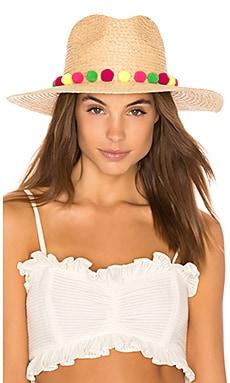 Pom Pompeii Wide Brim Hat