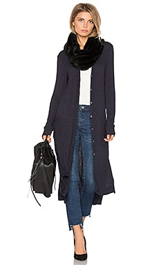 Duster Cardigan en Dark Slate