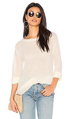 Textured Sweater in Ivory