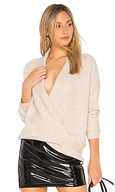Shawl Collar Crossover Top