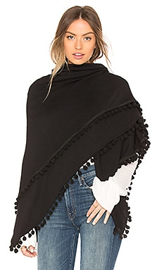 PONCHO MANTA DE POMPÓN MADISON Michael Stars $98