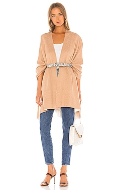 Bliss Doubled Knit Ruana Michael Stars $78