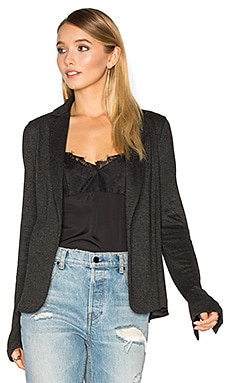 Relaxed Blazer in Charcoal