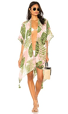 Palm Fronds Ruana Michael Stars $54
