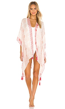 x REVOLVE Cloud of Paisley Ruana Michael Stars $54