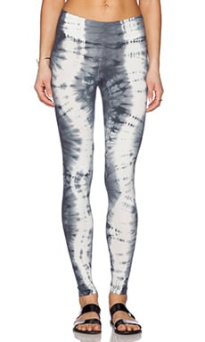 Michael Stars Full Length Legging in Line Tie Dye