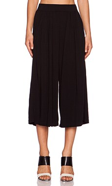 Michael Stars Culotte Pant in Black