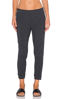 Michael Stars Seam Sweatpant in Black