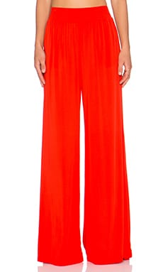 Michael Stars High Waist Wide Leg Pant in Samba