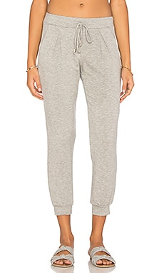 Michael Stars Jogger Pant in Heather Grey