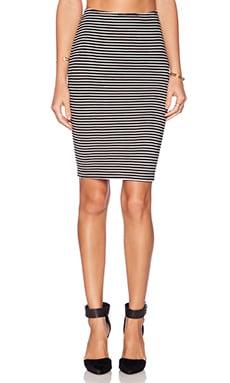 Michael Stars Pencil Skirt in Black & White