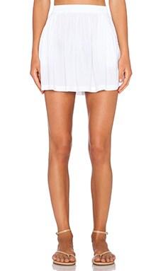 Michael Stars Flowy Skirt in White