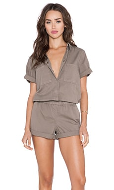 Michael Stars Union Romper in Caper