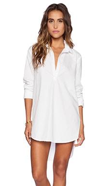 Michael Stars Long Sleeve Tunic in White