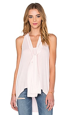 Sleeveless Halter With Ties in Sugar