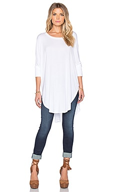 Michael Stars Poncho Top in White