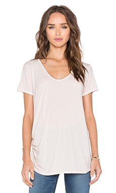 Michael Stars Short Sleeve V Neck Tee in Bloom