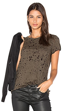 Michael Stars Short Sleeve Crew Neck Tee in Olive Moss