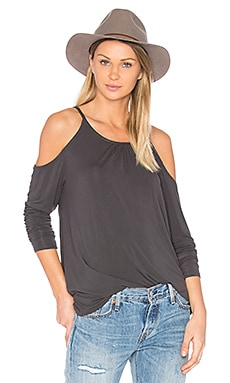 Cold Shoulder Top in Oxide
