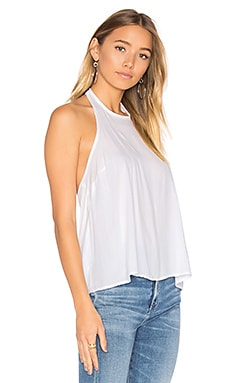 Tie Back Halter in White