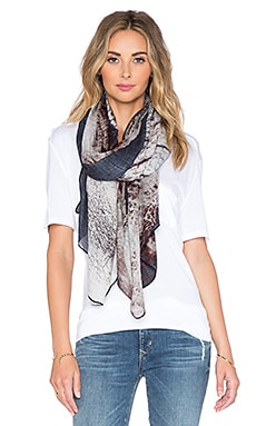 Michael Stars Telephant Scarf in Black