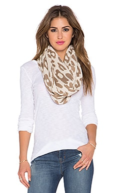 Michael Stars Big Cat Eternity Scarf in Sweet Pea