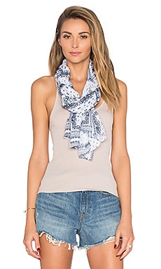 Michael Stars Paisley Bandana Scarf in Nocturnal
