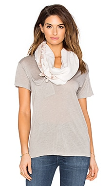 Michael Stars Tasseled In The Sun Eternity Scarf in Stone