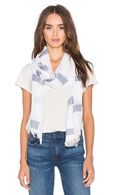Michael Stars Cobblestone Road Scarf in Nocturnal
