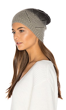 Laced Up Beanie en Noir