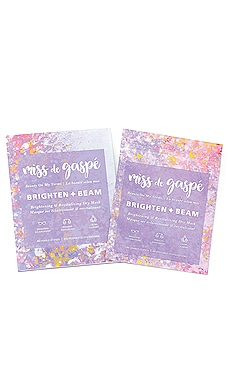 Brighten Beam Dry Mask MISS de GASPE $32