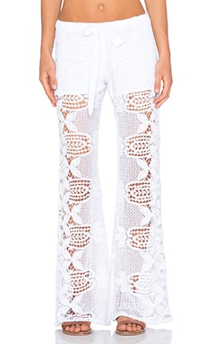 Miguelina Camden Pant in Pure White