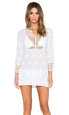 Miguelina Sadie Cover Up in Pure White