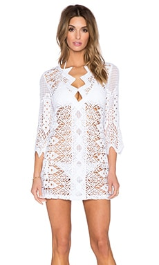 Miguelina Elliot Cover Up in Pure White