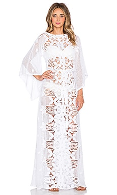 Miguelina Harper Cover Up in Pure White