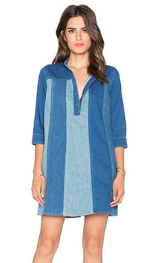 MiH Jeans Jane Dress in Western Chambray