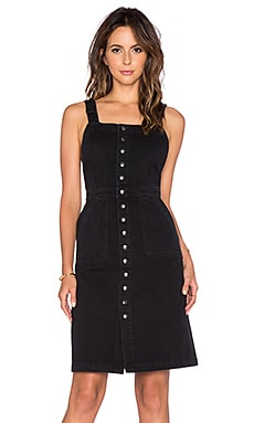 MiH Jeans Eastman Dress in Black