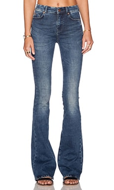 MiH Jeans The Bodycon Marrakesh Flare in Orme