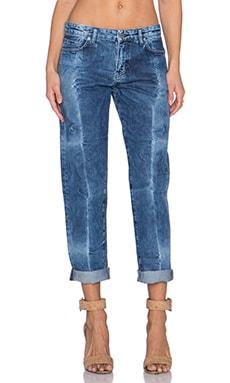MiH Jeans Phoebe Slim Jean in Fold Wash