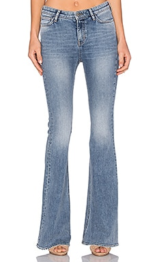 M.i.h Jeans Stevie Flare in Berg Wash