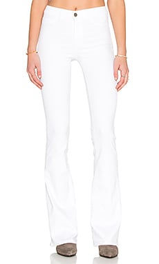 M.i.h Jeans Marrakesh Bodycon Flare in Power White
