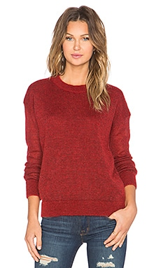Delo Sweater in Red