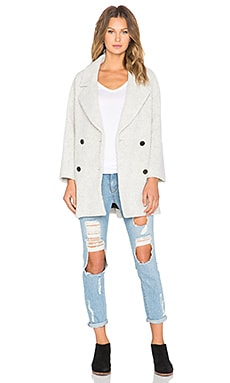 MiH Jeans Larking Coat in Grey
