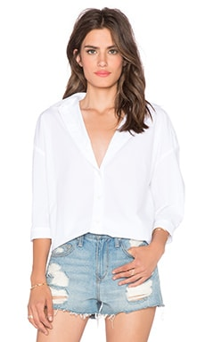 MiH Jeans Poets Shirt in White