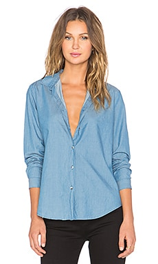 MiH Jeans Flight Shirt in Blue