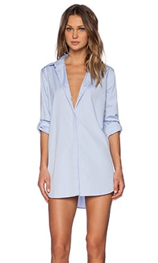 MiH Jeans The Oversized Shirt in Blue
