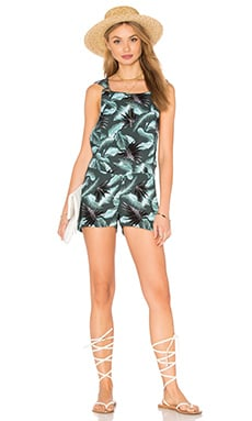 Guana Cay Romper in Hawaiian Army