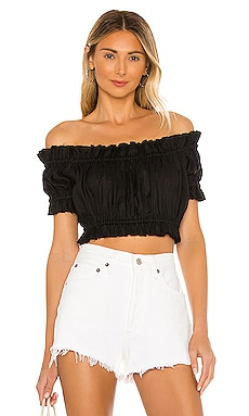 TOP CROPPED PANA MIKOH $129
