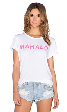 MIKOH Mahalo Tee in Pink