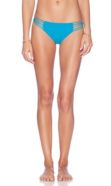 MIKOH Lanai Multi String Bikini Bottom in Oceanic